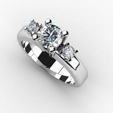 three stone engagement rings the significance of the three stone engagement ring