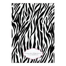 zebra baby shower chic glam modern pink zebra baby shower invitation card