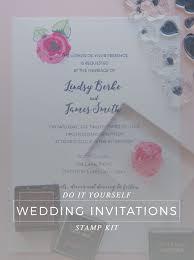 diy wedding invitations kits altenew wedding kit