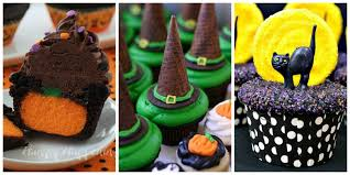 23 halloween cupcake ideas easy recipes for cute cupcakes photos