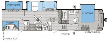 Cube House Floor Plans 2015 Eagle Fifth Wheels Floorplans U0026 Prices Jayco Inc