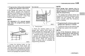 Overhead Door Legacy Troubleshooting Subaru Outback Manuals 2013 Outback Owner S Manual