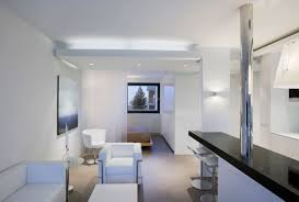 apartment outstanding studio apartment design with white leather apartment outstanding studio apartment design with white leather sofa and black bar countertop decor idea