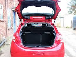 peugeot 208 trunk 2014 peugeot 208 1 2 e vti allure automatic 5dr hatchback burgundy