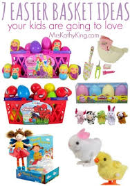 ideas for easter baskets 7 easter basket ideas for kids
