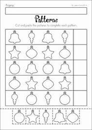 christmas preschool no prep worksheets and activities worksheets