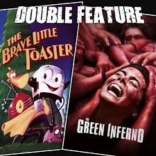 Brave Little Toaster Pixar The Brave Little Toaster The Green Inferno Double Feature