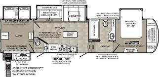 Fifth Wheel Floor Plans Forest River Wildcat