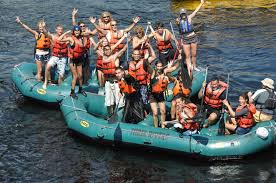 kennebec river rafting with inn by the river