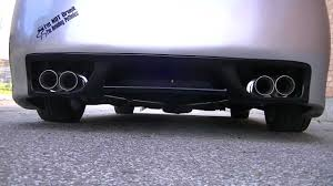 nissan maxima youtube video 2004 nissan maxima with n1 catback and 14816 magnaflow muffler