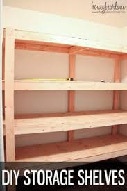 diy storage shelves tutorial diy storage shelves diy storage