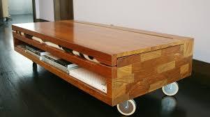 Futon Coffee Table Futon Coffee Table Solid Teak Wood Construction Espresso