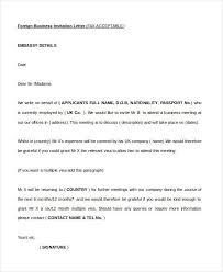 business invitation letter format sample business invitation