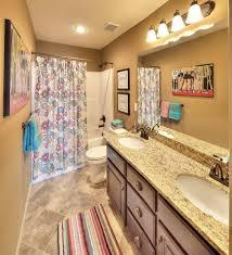 bathroom in the woodbury floor plan from kansas city new home