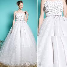 elegant wedding dresses 2016 off the shoulder applique lace ball