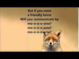 What Did The Fox Say Meme - what does the fox say ylvis lyrics youtube