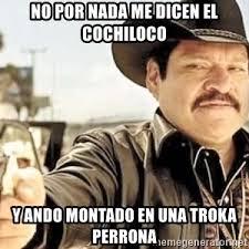 Memes De Cochiloco - cochiloco meme generator
