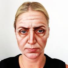 old age makeup with a little makeup we can turn a guy in his 20s