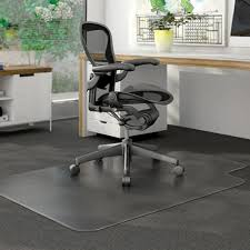 plastic desk chair floor mat reale 35percent recycled all pile