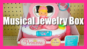 Fisher Price Toy Box Fisher Price Princess Mommy Musical Jewelry Box Youtube