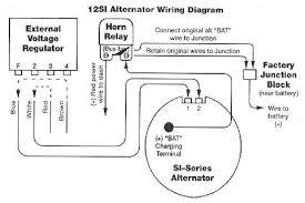 changing from a external to a internal regulated alternator
