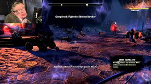 stephen hawking plays elder scrolls online beta youtube
