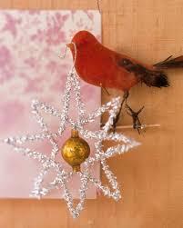 tinsel ornaments martha stewart