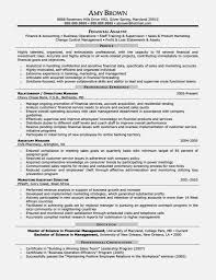 Resume Objectives Examples by Perfect Financial Analyst Resume Objective Entry Level U2013 Resume
