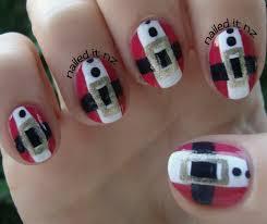 nailed it nz santa claus nail art tutorial