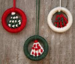 dorset button kit tree hanging ornaments