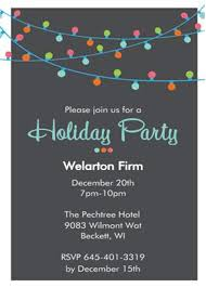 Christmas Invitation Cards Template Corporate Holiday Party Invitations Theruntime Com