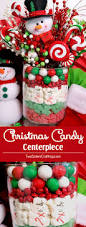 Candy Vases Centerpieces Christmas Candy Centerpiece Two Sisters Crafting