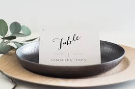 Wedding Place Cards Template Wedding Place Cards Editable Pdf Card Templates Creative Market