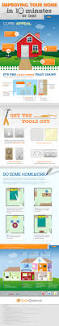 home decor infographic improving your home in 10 minutes or less infographic
