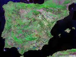 Spain Map World by Spain Map And Satellite Image