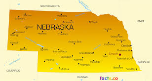 Colorado Map Of Cities by Nebraska Map Blank Political Nebraska Map With Cities