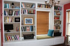 Home Office Bookshelves by Home Office Makeover Red Chair Market