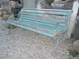 panchine da giardino in ghisa ra ma panchina antica ghisa e legno verdastra