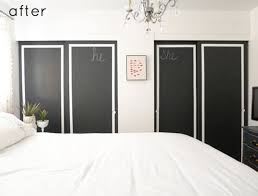 How To Build Bi Fold Closet Doors Diy Bi Fold Closet Door Makeovers Bright Green Door
