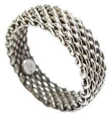 tiffany ring bracelet images Tiffany co co 18 karat 750 white gold somerset classic size 6 jpg