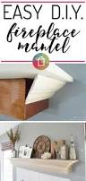 best 25 diy fireplace mantel ideas on pinterest white mantle