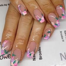 50 flower nail designs for spring flower nails flower nail