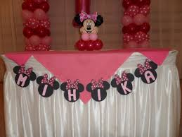 minnie mouse 1st birthday party ideas minnie mouse banner party decorations by teresa