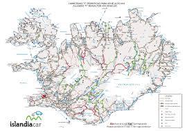 Iceland Map Location Map Islandiacar Islandia Cheap Cars Rental