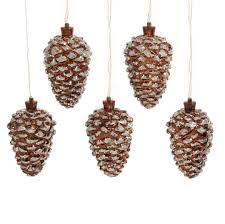pinecone garland lighted pinecone garland