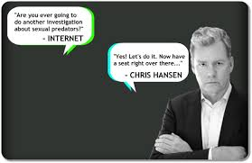 Chris Hansen Meme - hansen vs predator by chris hansen kickstarter