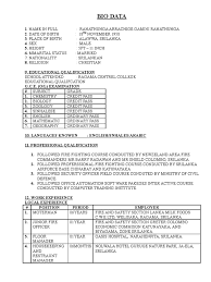 Sample Resume Format For Zoology Freshers by 1507487068