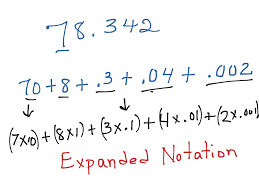 showme expanded notation for division