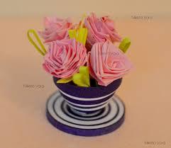 niketa u0027s creative corner 3d paper quilling miniature flower