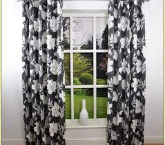Patterned Window Curtains Black And White Pattern Curtains Black And White Patterned